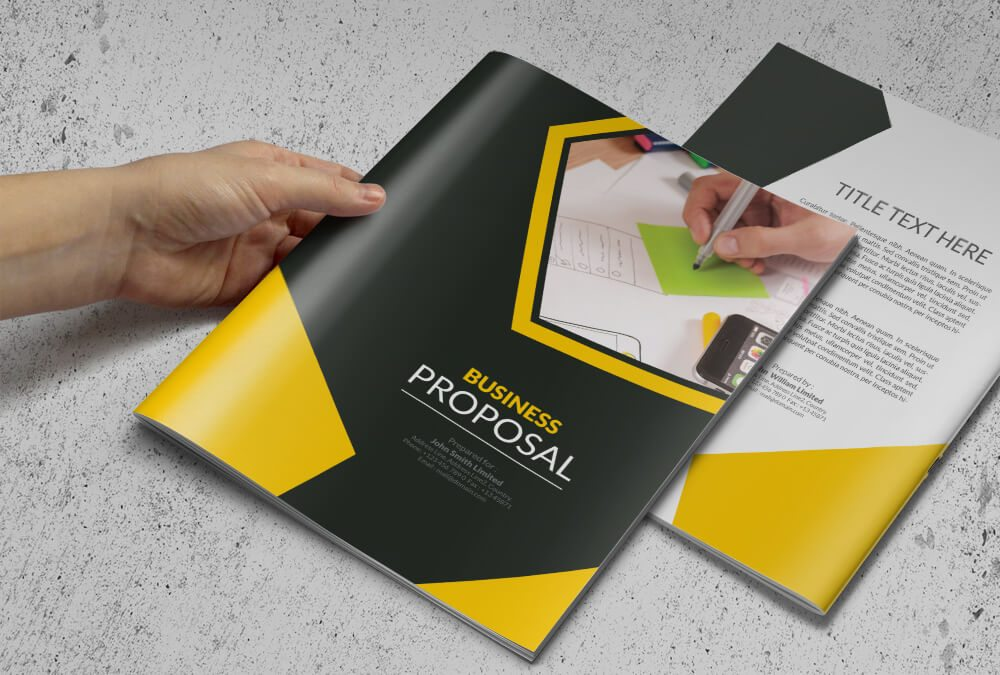 a multi purpose business proposal or brochure template comprised of 10 pages professional and clean business proposal or brochure