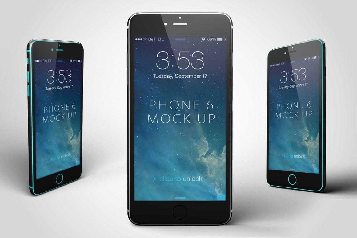 1-o 100+ iPhone PSD & Vector Mockups design tips