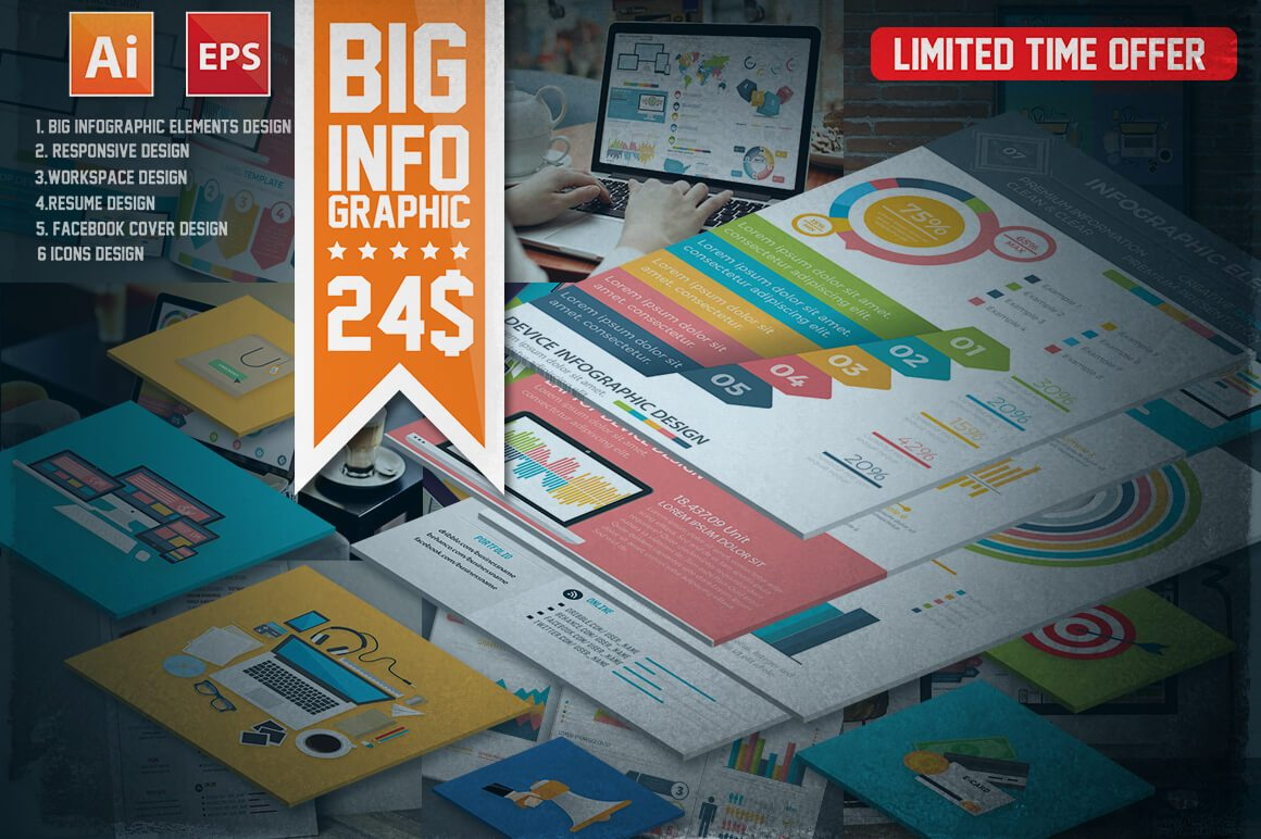 10-17 40+ Best Infographic Templates (Word, PowerPoint & Illustrator) design tips