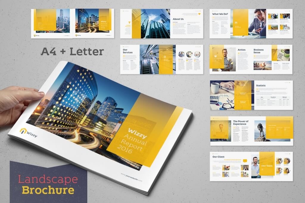 Wizzy Annual Report 2016  Annual Report Template Design