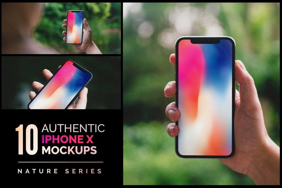 10-Authentic-iPhone-X-Mockups-1 100+ iPhone PSD & Vector Mockups design tips