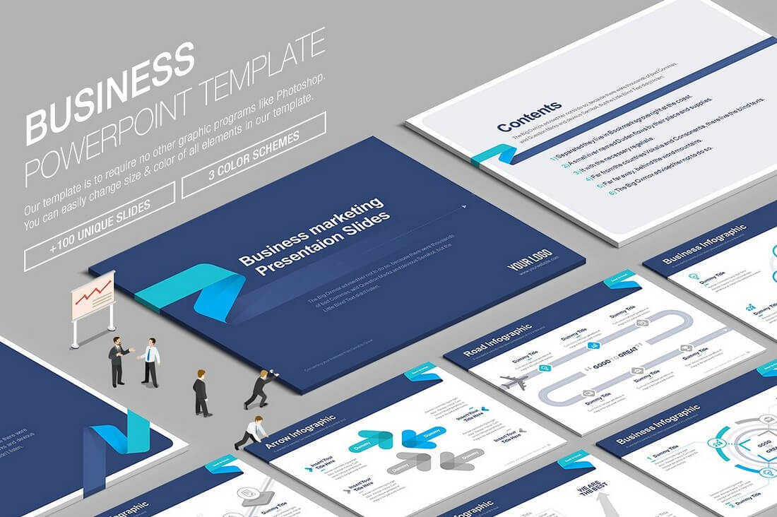 Beautiful Premium PowerPoint Presentation Templates Design Shack - Awesome replace powerpoint template concept
