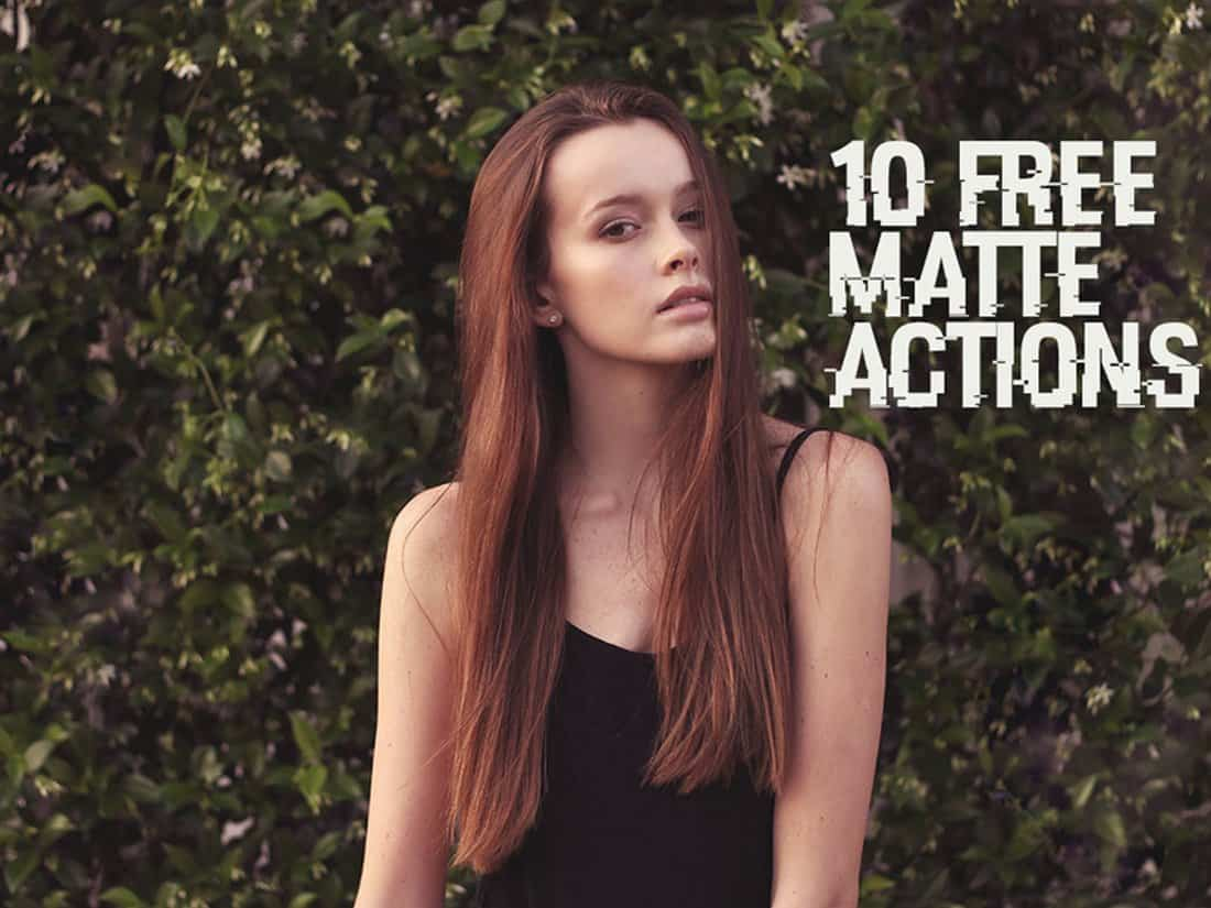 10 Free Matte Photoshop Actions