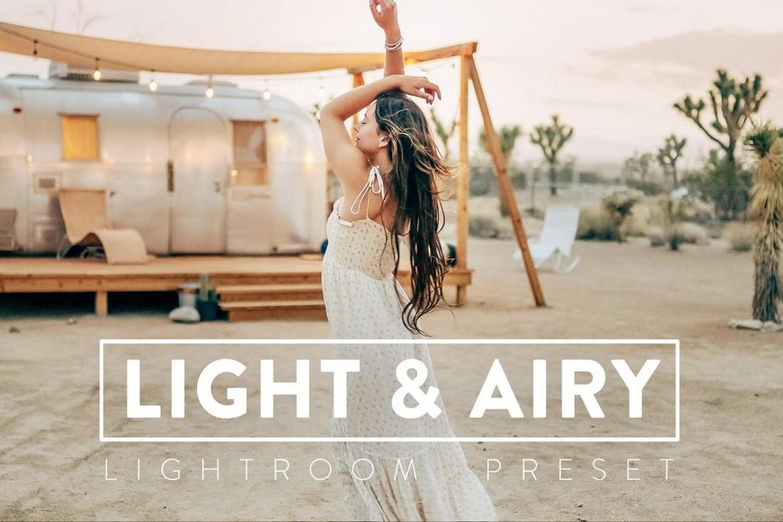 10 Light & Airy Realistic Lightroom Presets