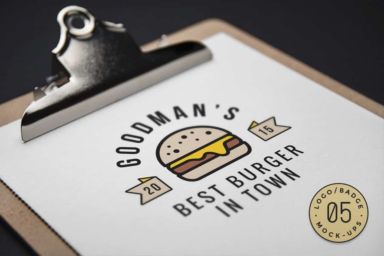 10 Logo & Badge Mock-Ups Vol 3