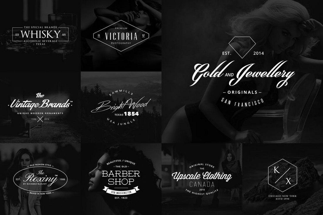 10-Logo-Badge-Sign-Templates 20+ Best Sign Templates & Mockups design tips