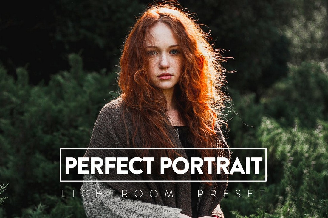 10 Perfect Portrait Lightroom Preset