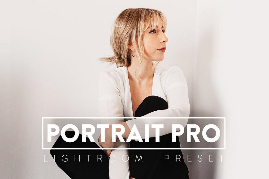 10 Portrait Pro Lightroom Presets