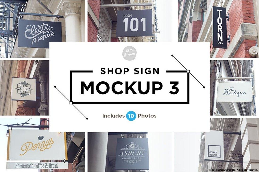 10-Shop-Sign-Mockups-2 20+ Best Sign Templates & Mockups design tips