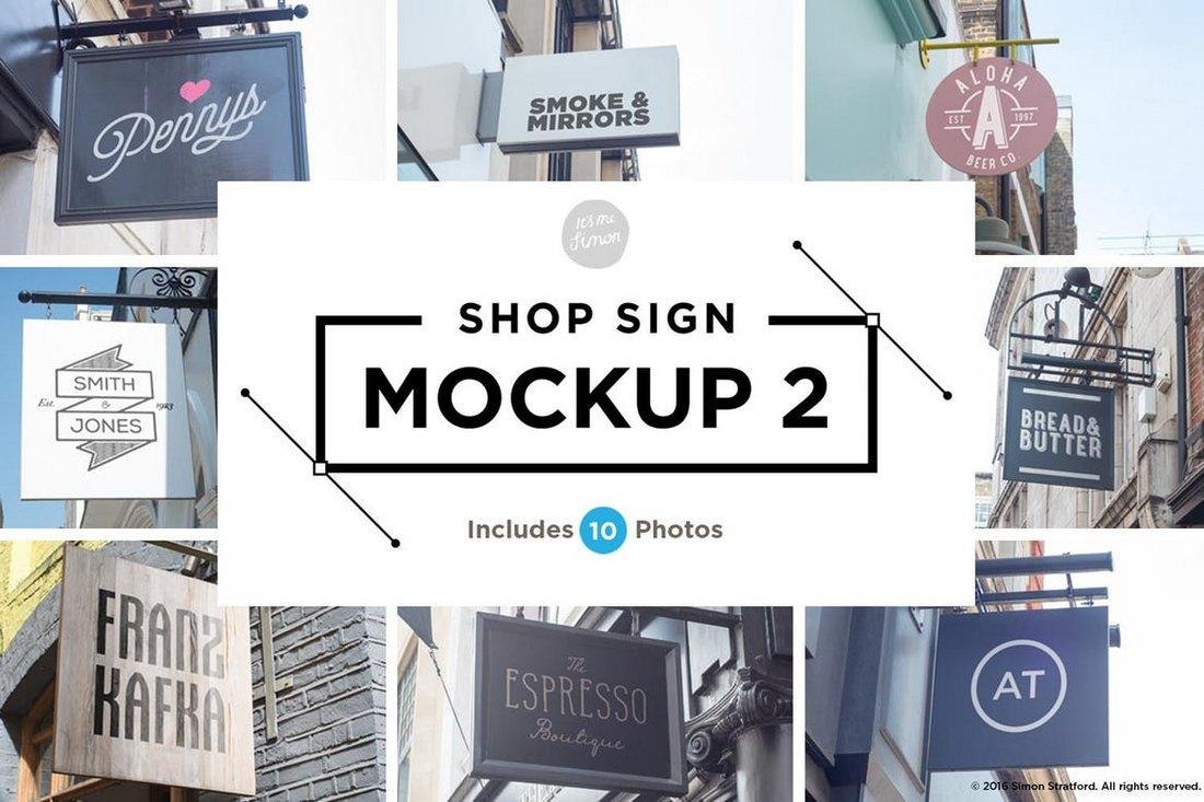 10-Shop-Sign-Mockups 20+ Best Sign Templates & Mockups design tips