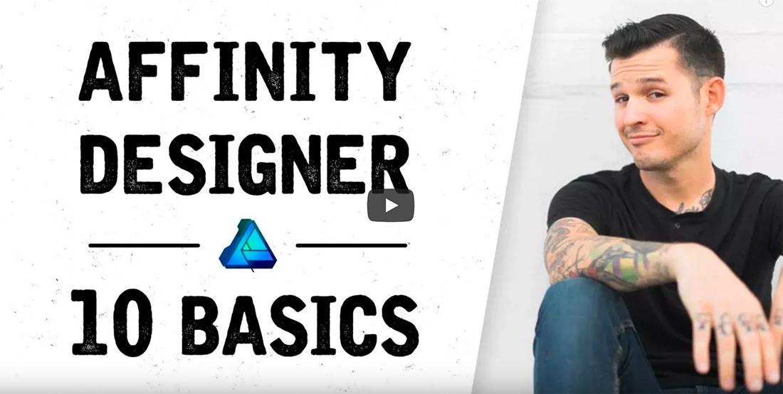 affinity designer tutorials