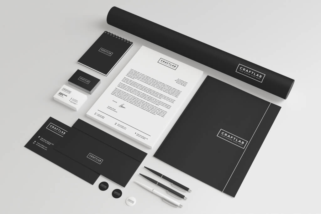 80 Modern Stationery Templates – Stationery Templates for Designers