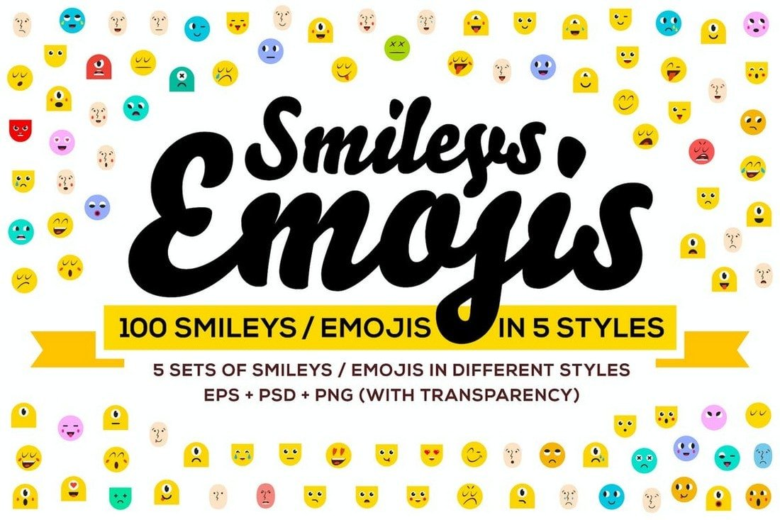 100 Emoji & Smiley Icons for Instagram