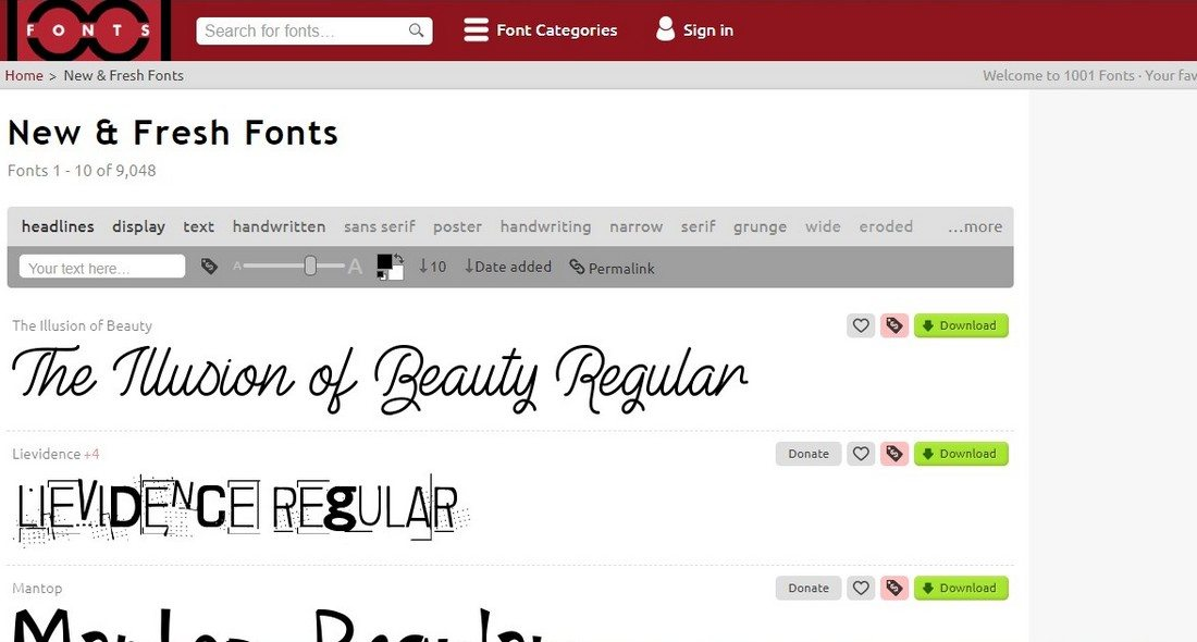 1001 10+ Best Places to Find Free Fonts design tips  Inspiration|Typography|fonts|free