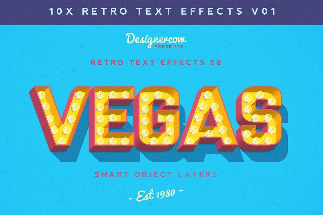 10x-Retro-Text-Effects 30+ Best Retro Text Effects & Styles design tips