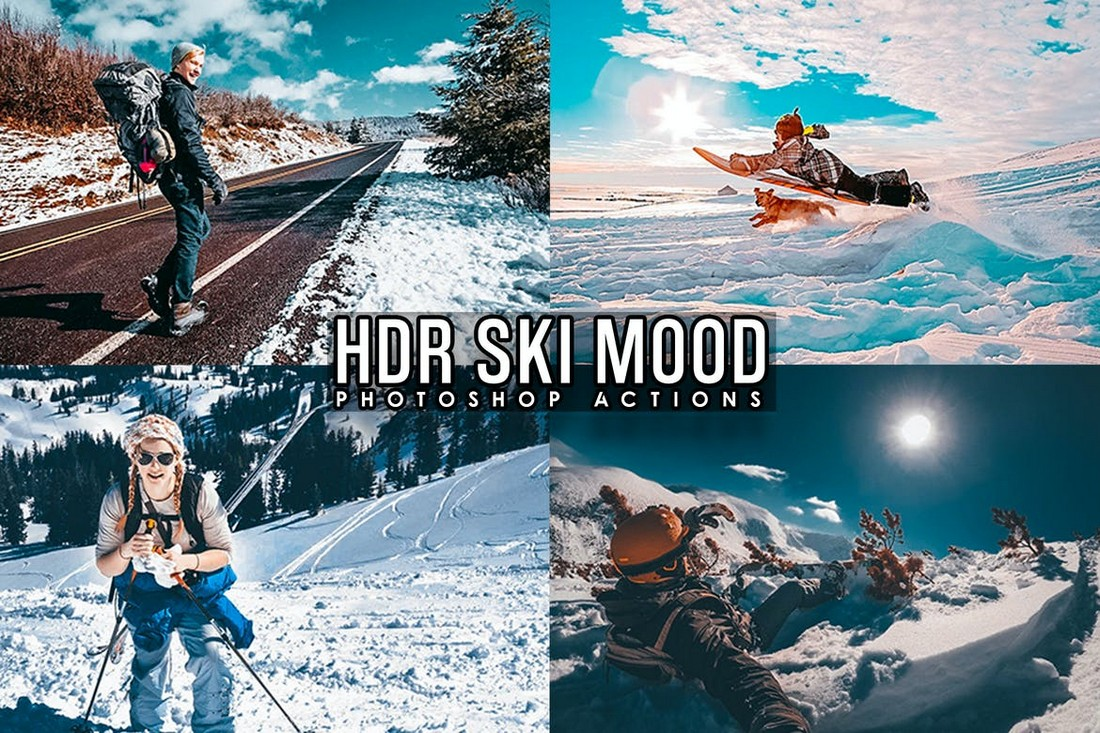 11 HDR Photoshop Effects & Actions
