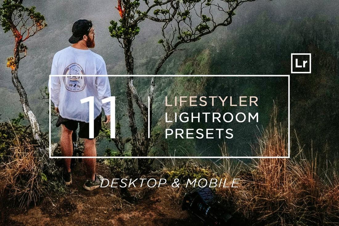 11 Lifestyler Lightroom Presets