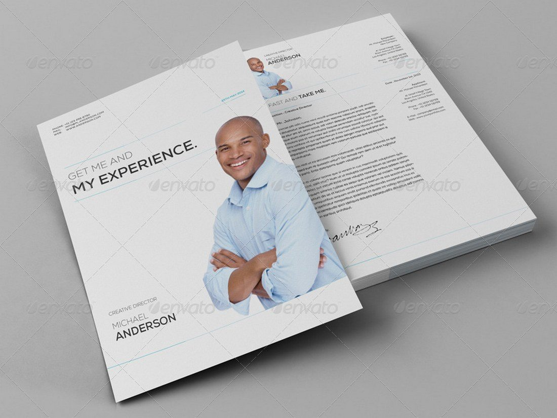 11-Pages-Resume-Template 20+ Best Pages Resume & CV Templates design tips