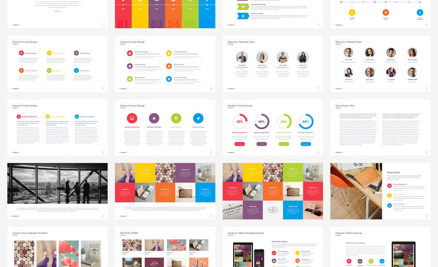 Beautiful Premium Powerpoint Presentation Templates  Design Shack