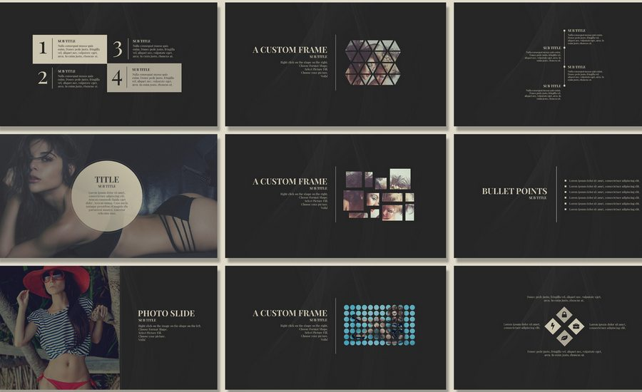 60 beautiful premium powerpoint presentation templates design shack named after iconic fashion designer yves saint laurent yves is an elegant powerpoint presentation for when youre in need of something chic and glamorous toneelgroepblik
