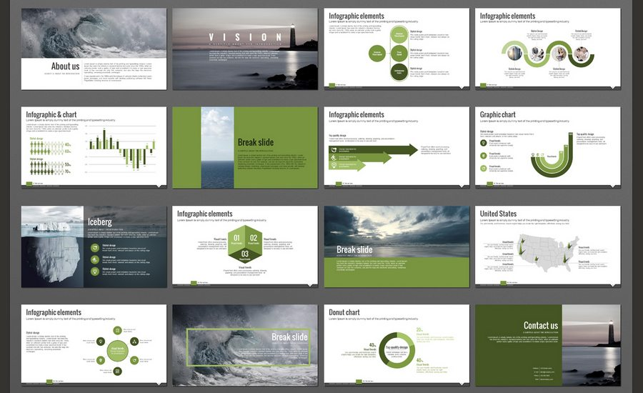 Populaire 60+ Beautiful, Premium PowerPoint Presentation Templates | Design  DR49