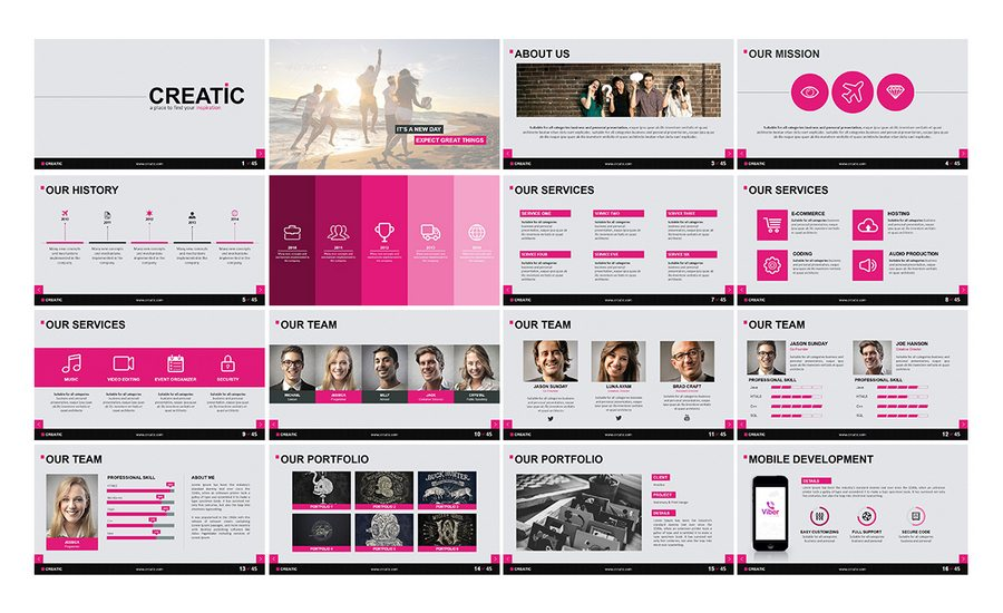 60 beautiful premium powerpoint presentation templates design shack swiss style powerpoint template for your presentation business or personal use such a creative industry technology finance it networking etc toneelgroepblik Choice Image