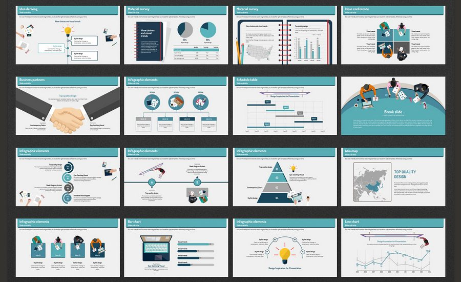 beautiful premium powerpoint presentation templates design  ideas conference presentation template is a illustrated image based presentation template it contains various types of slides for you to best utilize for