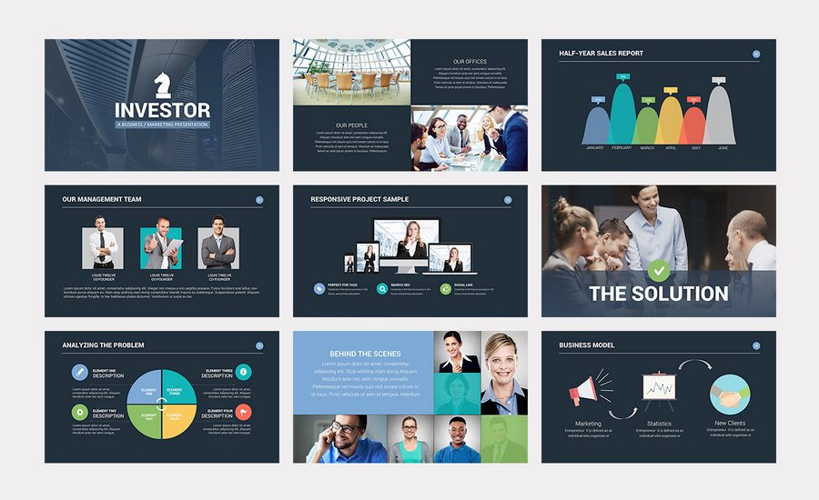 Investor Pitch Deck PowerPoint Template Is A New, Fresh, Modern, Clean,  Professional, Ready To Use, Creative And Very Easy To Edit Business  Presentation ...