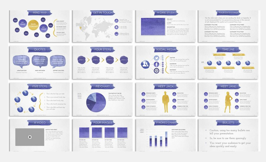 agency pitch template - 60 beautiful premium powerpoint presentation templates