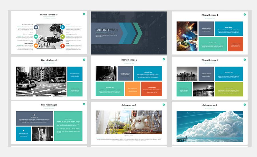 60 beautiful premium powerpoint presentation templates design shack the specific features of this pack include 12000 hd slides master slide based one click color changer hand made charts professional layout ready to toneelgroepblik Gallery