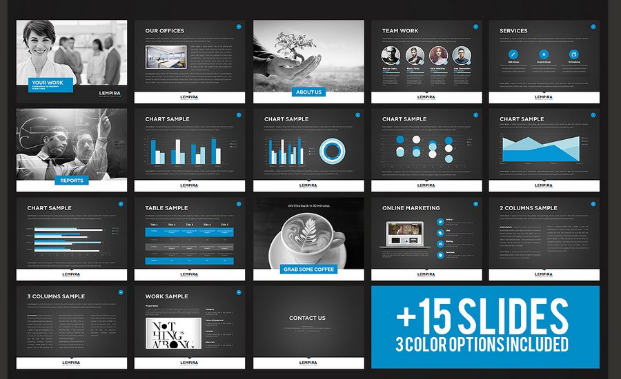 60 beautiful premium powerpoint presentation templates design shack a modern handcrafted and creative presentation specially designed for a agencygraphic design artist or any type of business fully editable files with toneelgroepblik Image collections