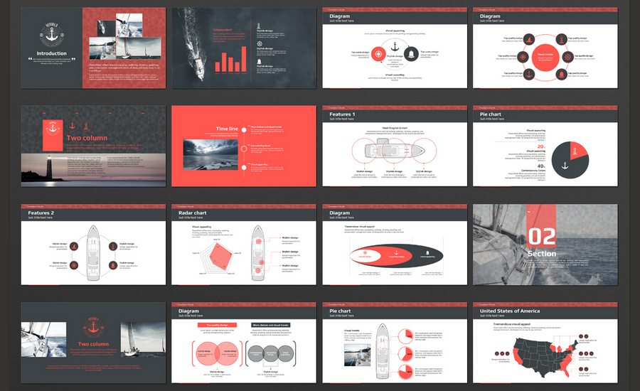 60+ Beautiful, Premium Powerpoint Presentation Templates | Design