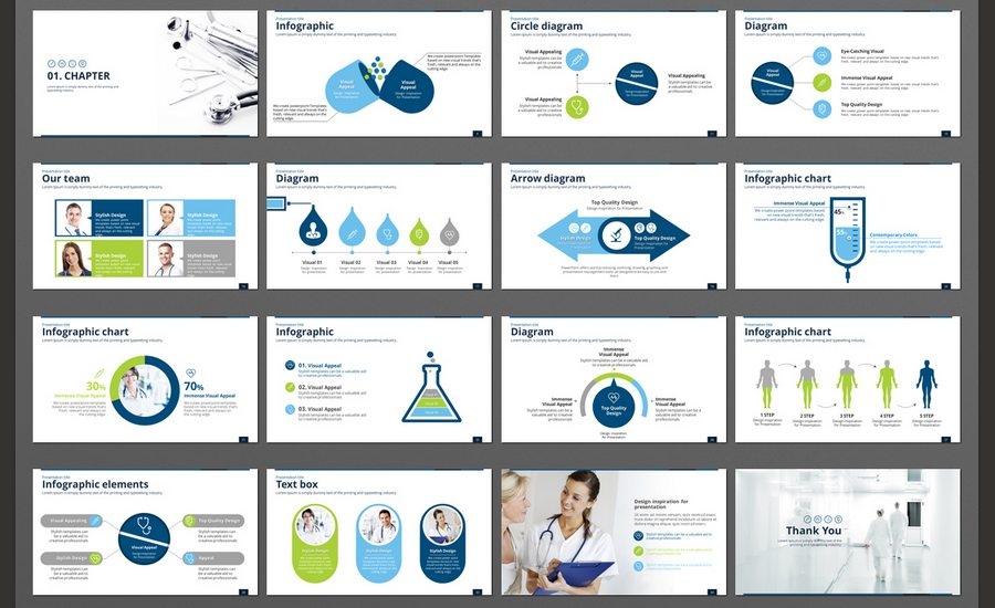 60 beautiful premium powerpoint presentation templates design this medical team presentation template is designed for those who are looking for templates that contains medical industry related slides toneelgroepblik Images