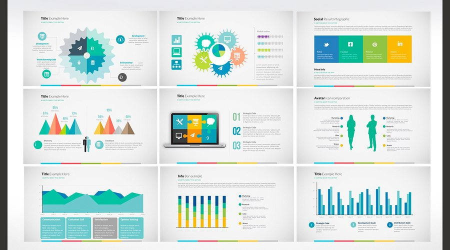 Infographic Ideas infographic examples powerpoint : 60+ Beautiful, Premium PowerPoint Presentation Templates | Design ...