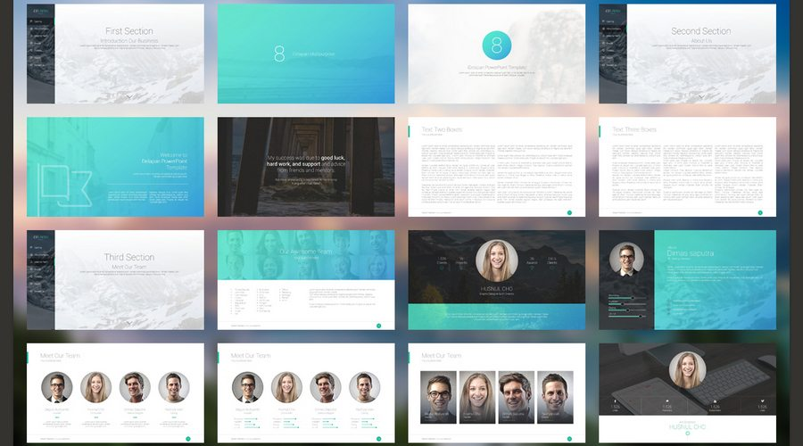 60 beautiful premium powerpoint presentation templates design idelapan powerpoint template toneelgroepblik