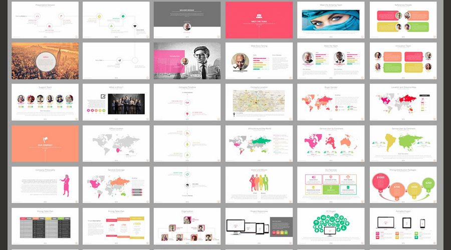 60 beautiful premium powerpoint presentation templates design shack africa a clean scalable and multipurpose powerpoint template to present your business to potentials clients in a elegant way africa has 42 files ppt and toneelgroepblik Choice Image