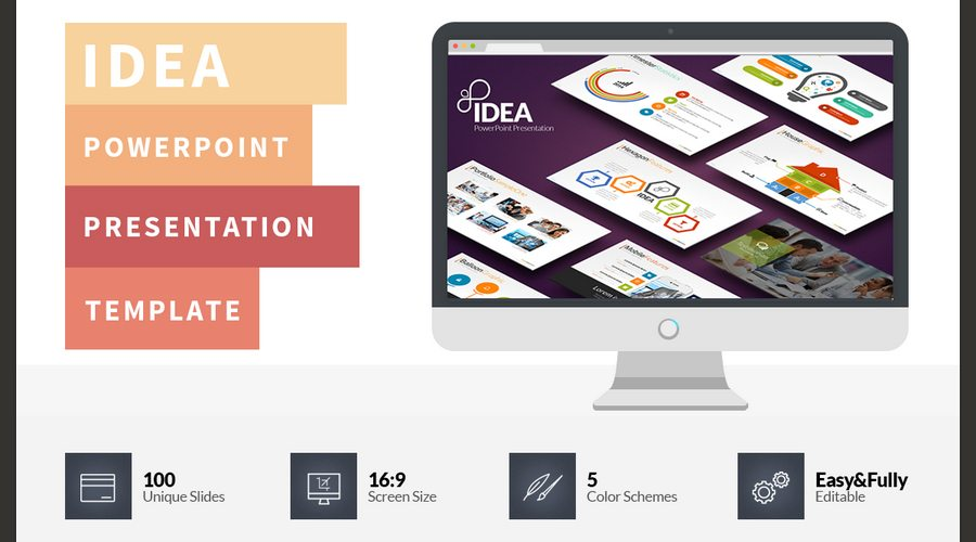 60 beautiful premium powerpoint presentation templates design idea powerpoint presentation keeps the line of flat design and brings out new ideas and more custom infographics to use in your meetings pronofoot35fo Gallery