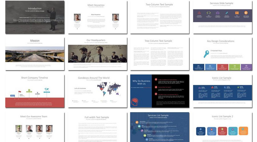 Designing Powerpoint Templates