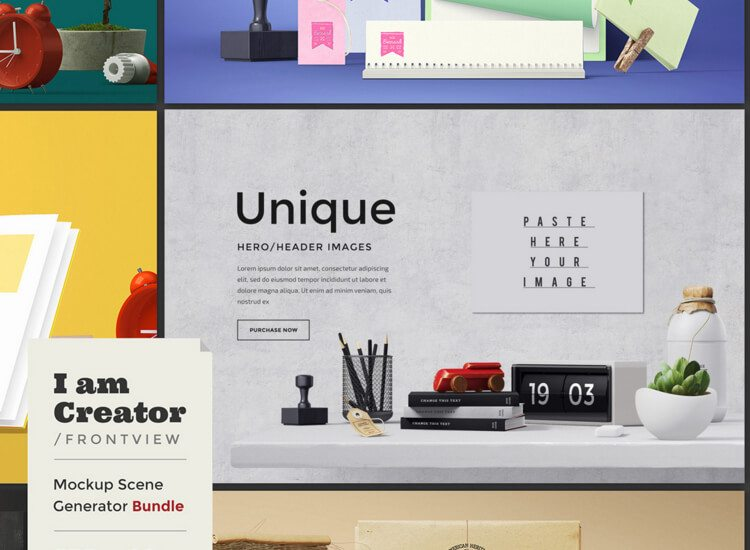 1185 30+ Feature-Packed Mockup and Scene Generators design tips
