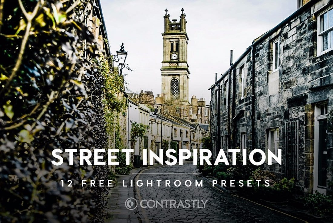 12 Free Street Photography Lightroom Presets