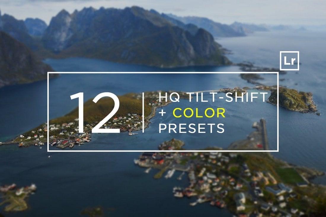 12 HQ Tilt-Shift & Color Lightroom Presets