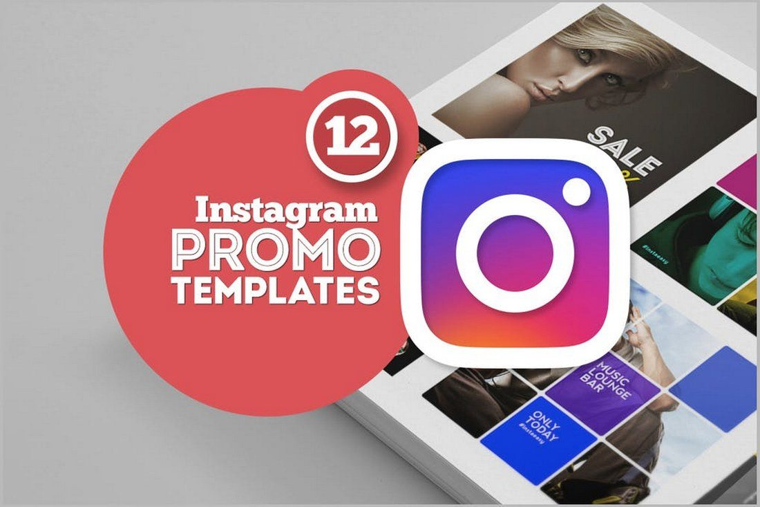 12-Instagram-Promo-Templates 30+ Best Instagram Templates & Banners design tips
