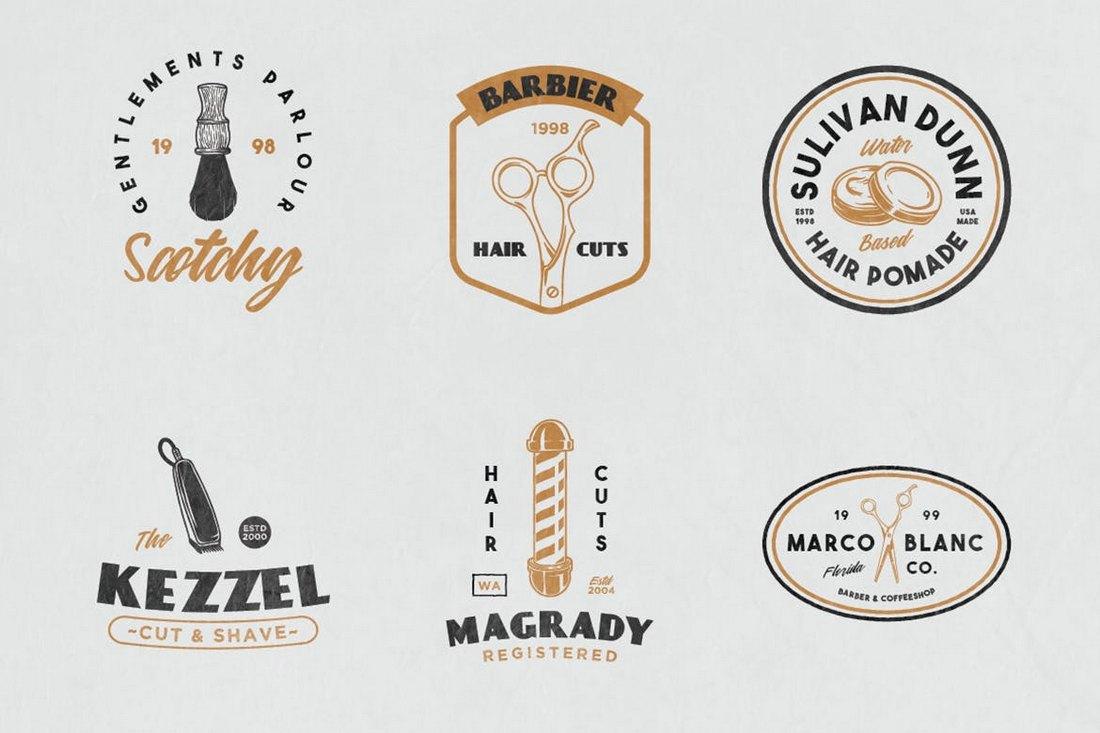 12-Vintage-Barber-Shop-Sign-Templates 20+ Best Sign Templates & Mockups design tips