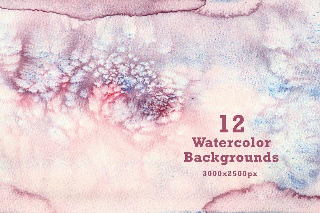 12-Watercolor-Backgrounds 30+ Best Watercolor Background Textures design tips