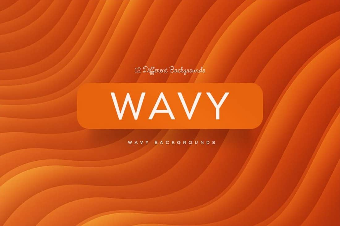 12 Wavy Backgrounds