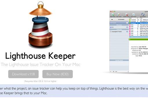 Lighthouse Keeper Mac app