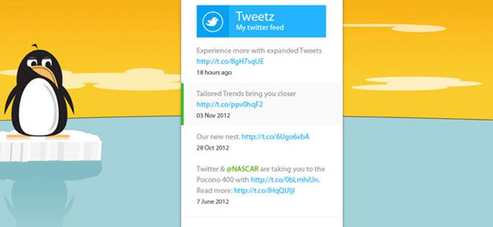 windows metro twitter ui interface design