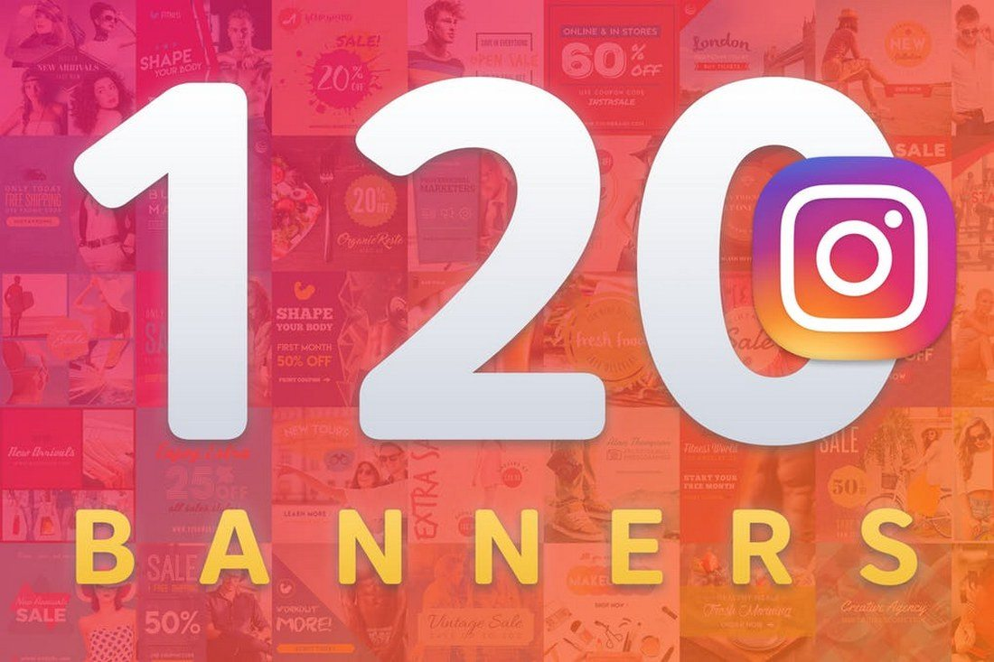 120-Instagram-Banners 30+ Best Instagram Templates & Banners design tips