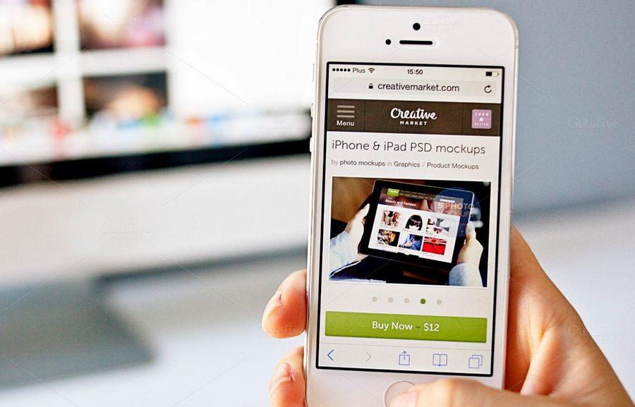 125 100+ iPhone PSD & Vector Mockups design tips