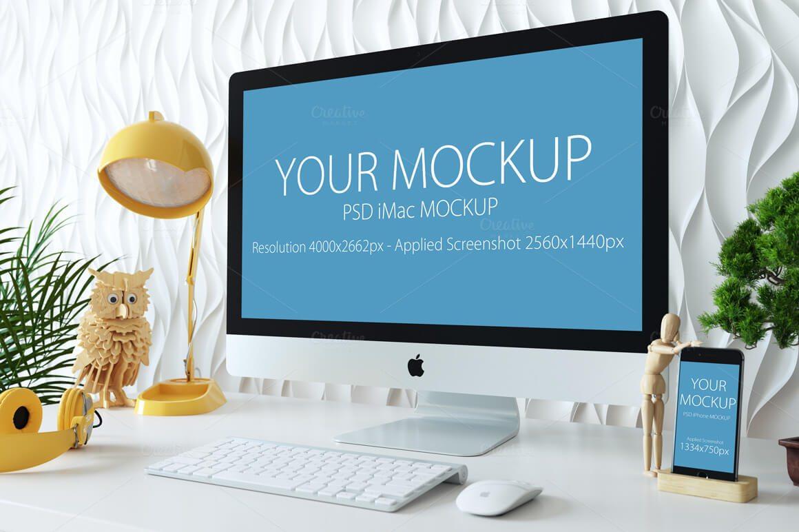 13-15 40+ iMac Mockup PSDs, Photos & Vectors design tips